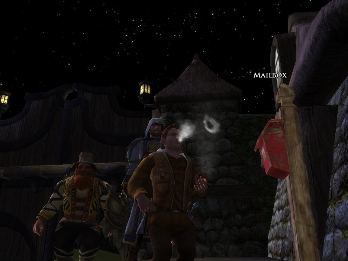 Lord of the Rings Online - Smoking Pipeweed
