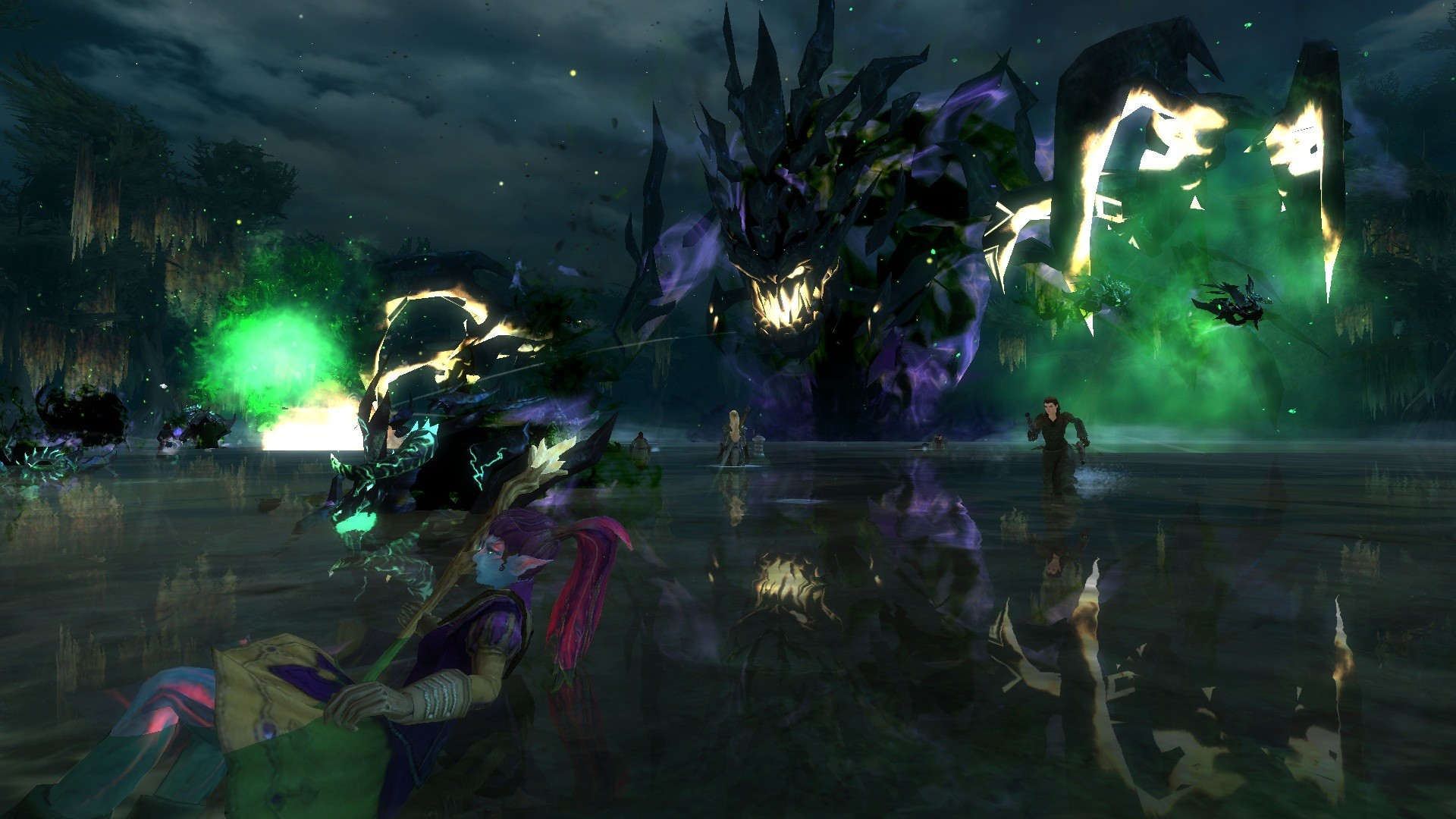 Guild Wars 2 - Uh ohh I opened the portal th the underworld