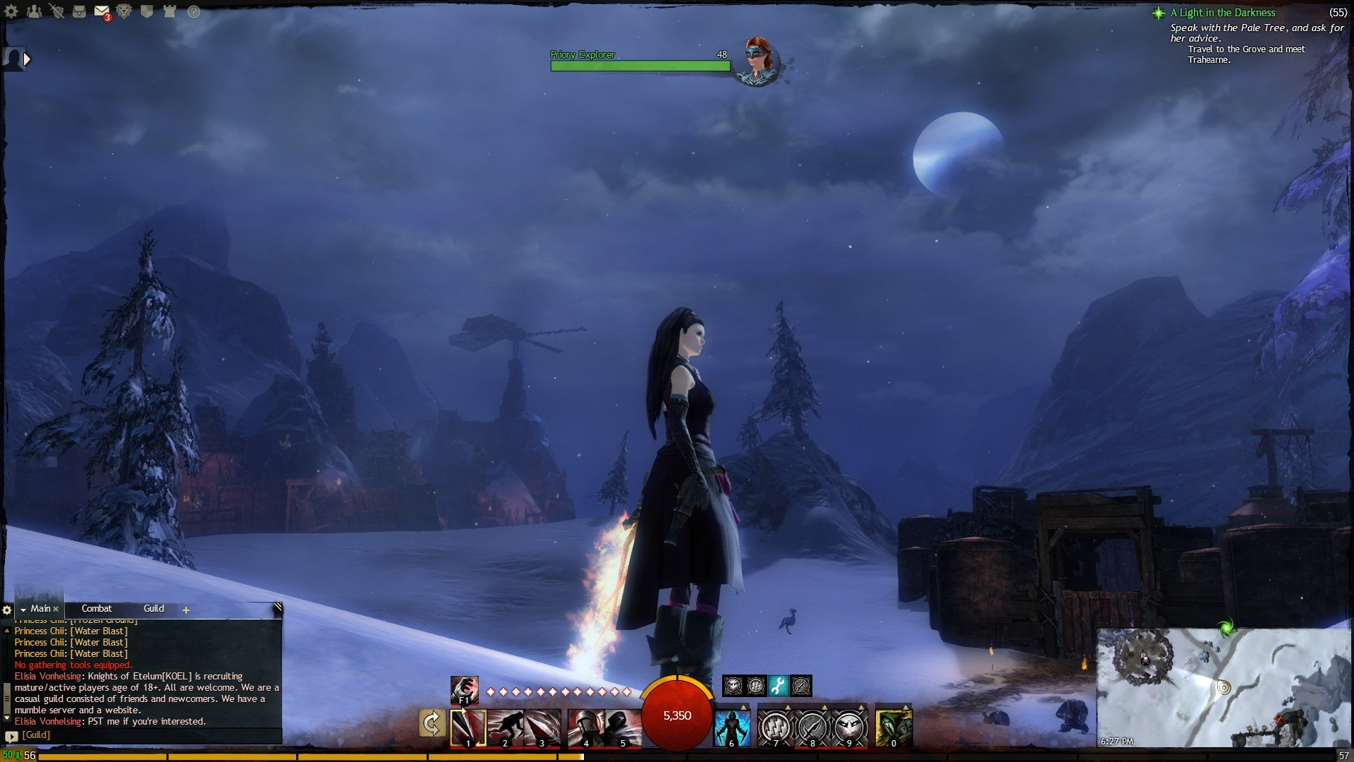 Guild Wars 2 - Under the silent Moonlight