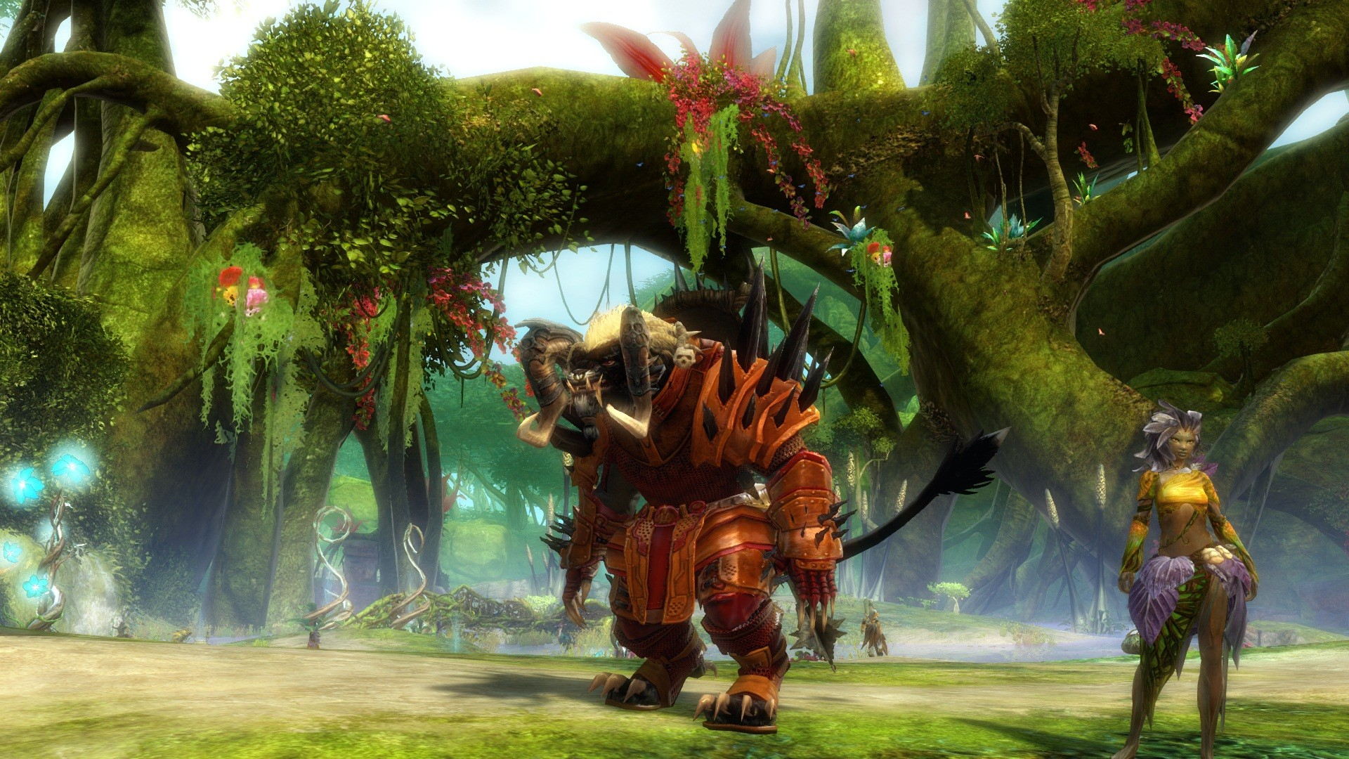 Guild Wars 2 - Sylvarie journey