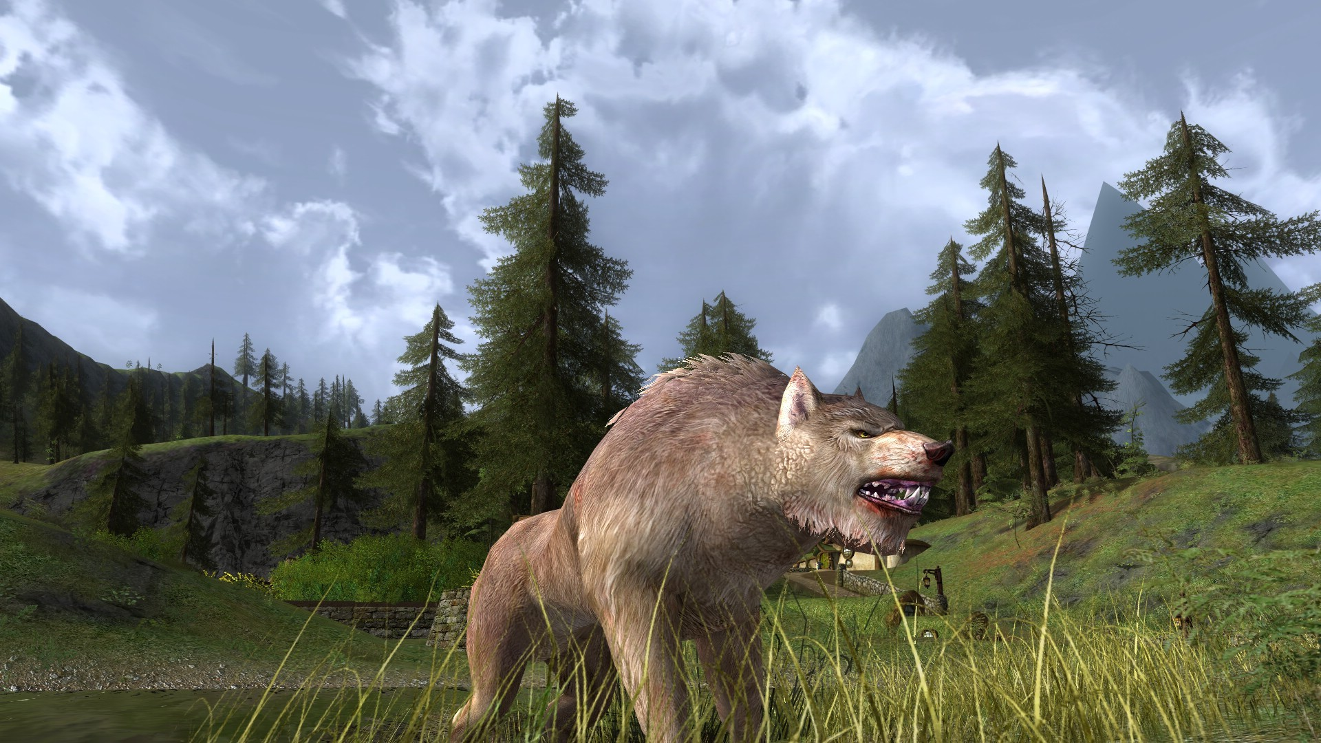 Lord of the Rings Online - My new wargy wargy!