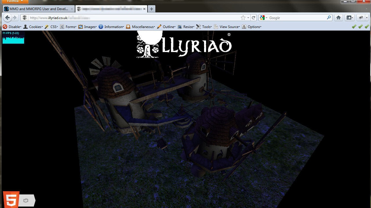 WebGL Flourmill Night