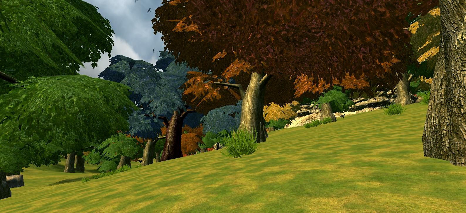 Mortal Online - MO Trees Before Improvement