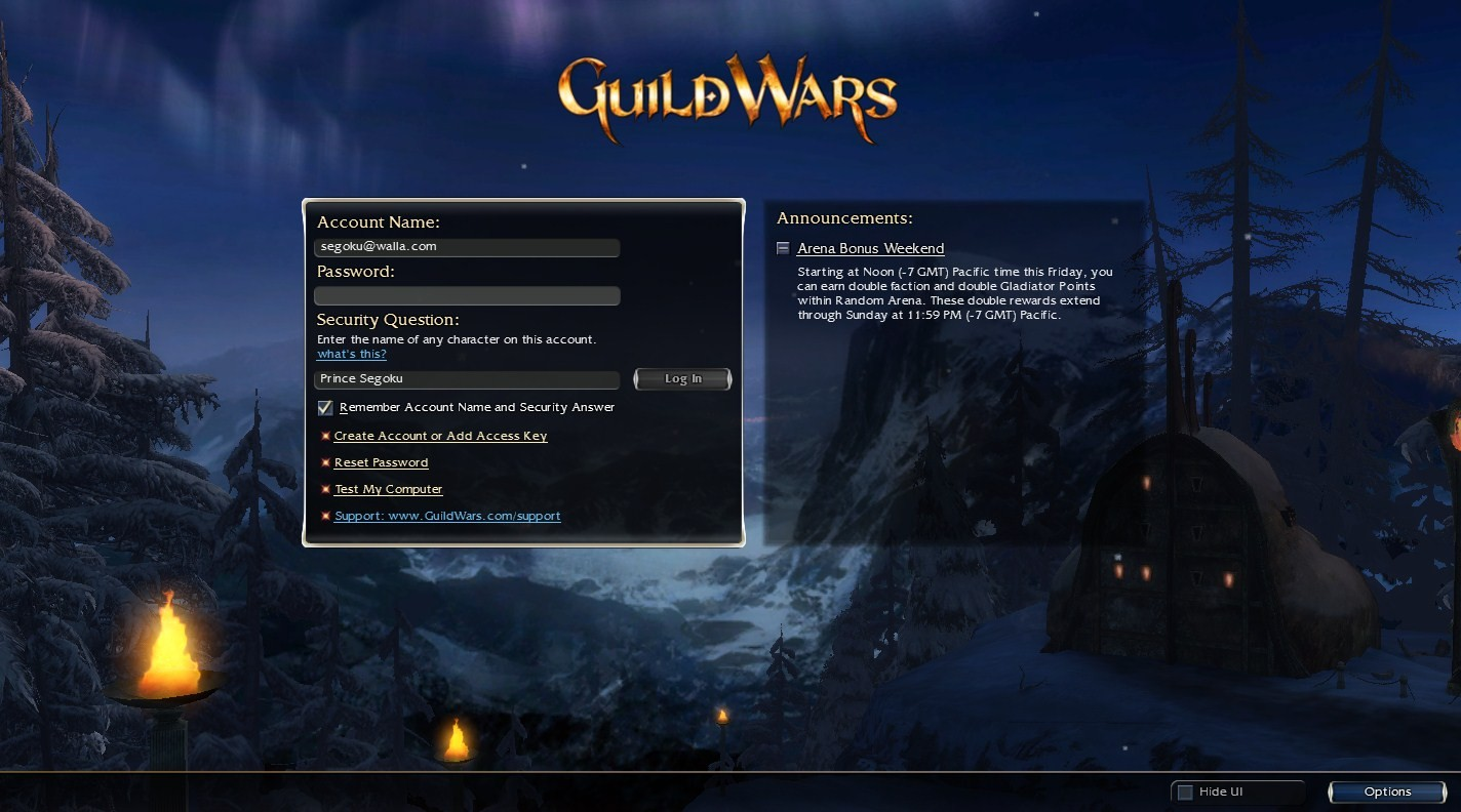 guld wars login screen