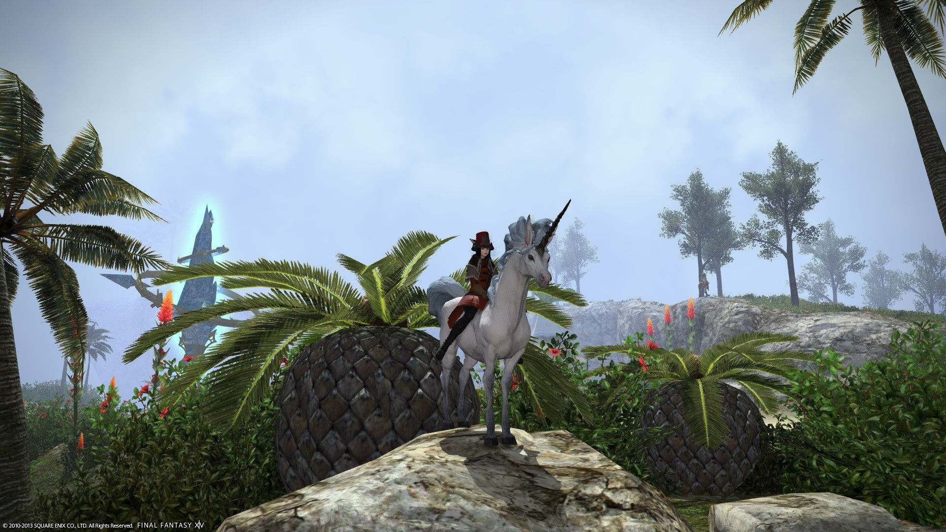 Final Fantasy XIV: A Realm Reborn - Look at my horse, my horse is amazing!