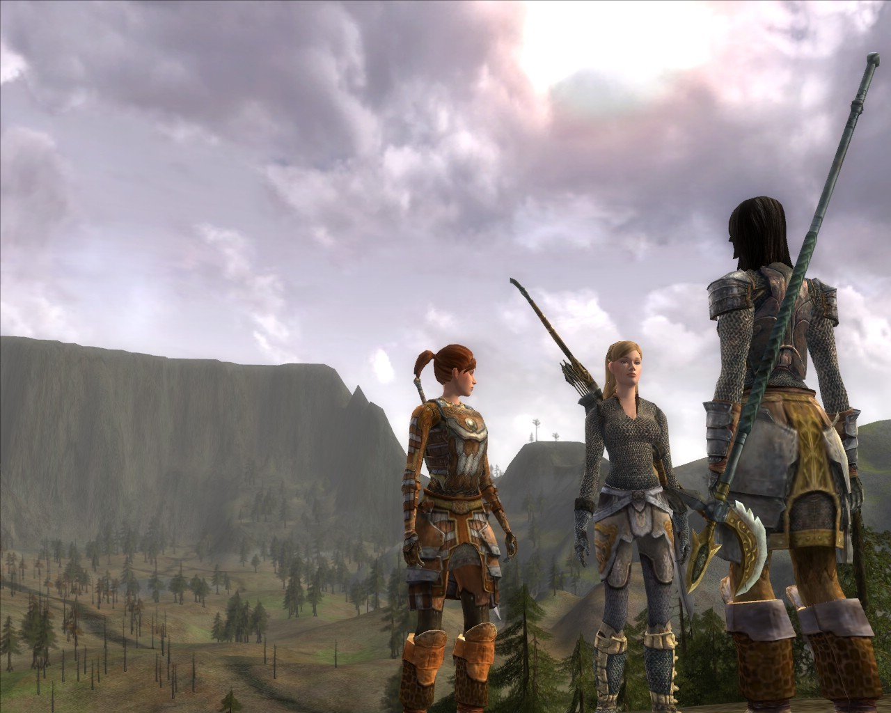 Lord of the Rings Online - East of Esteldin.