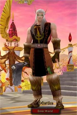 World of Warcraft - Daerthe in his former life.