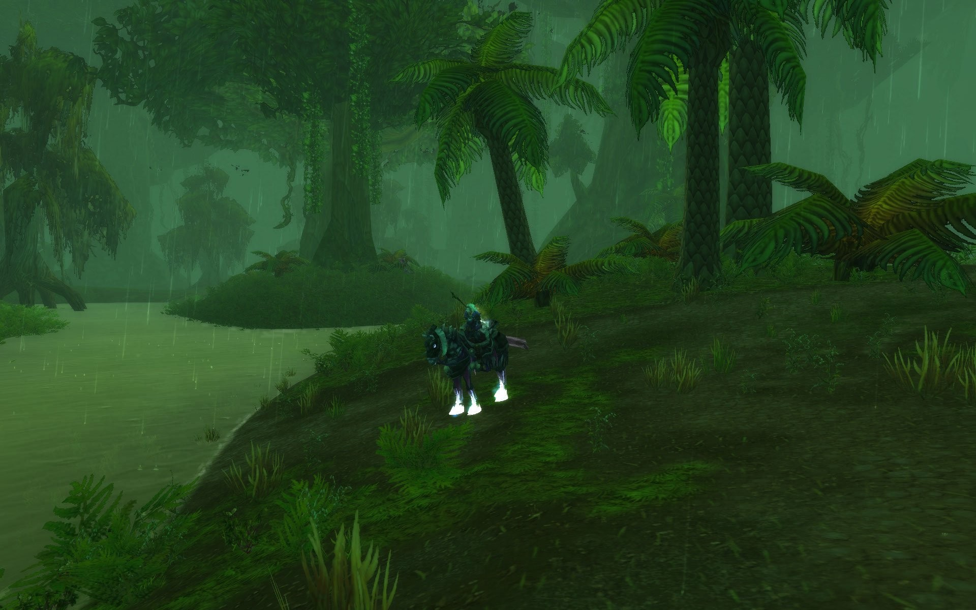 World of Warcraft - Wet, soggy trek through Un Goro Crater  :(