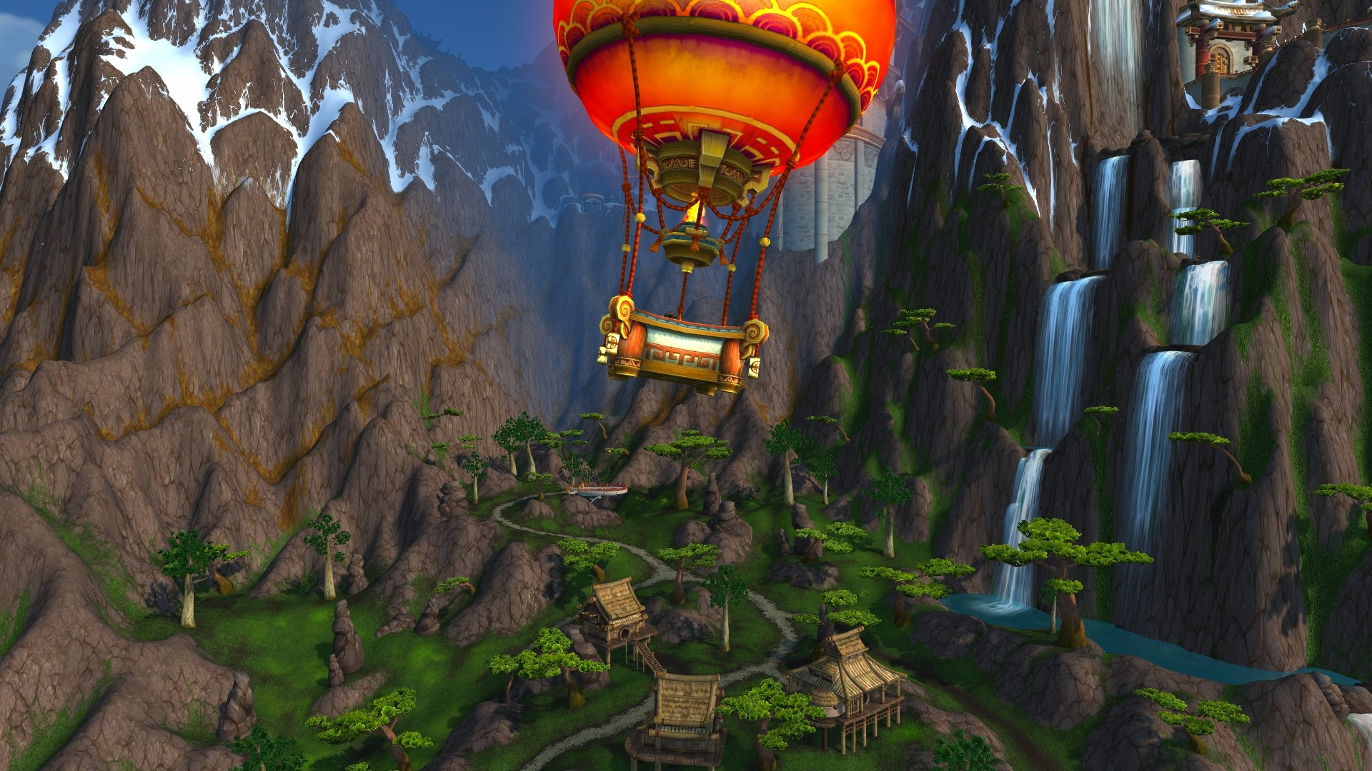 World of Warcraft: Mists of Pandaria - Ballooning around