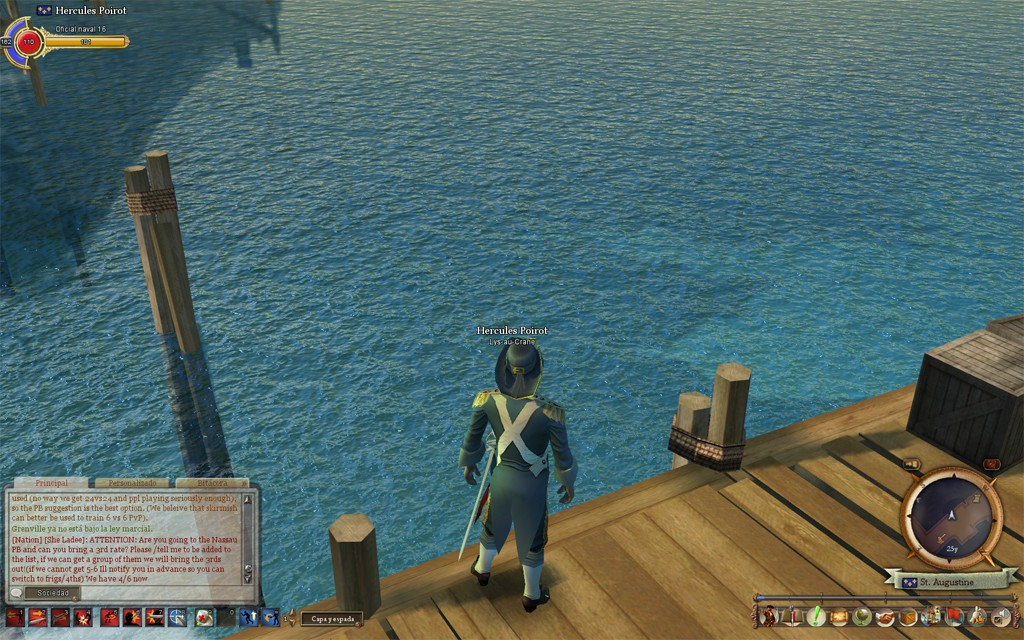 Pirates of the Burning Sea - best water in a mmorpg