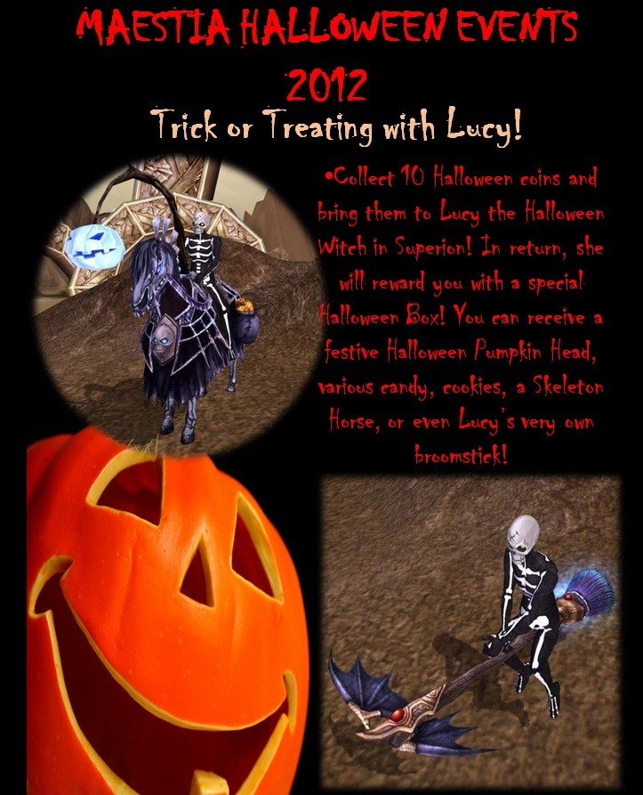 Maestia Halloween 2012: Trick or Treating with Lucy!