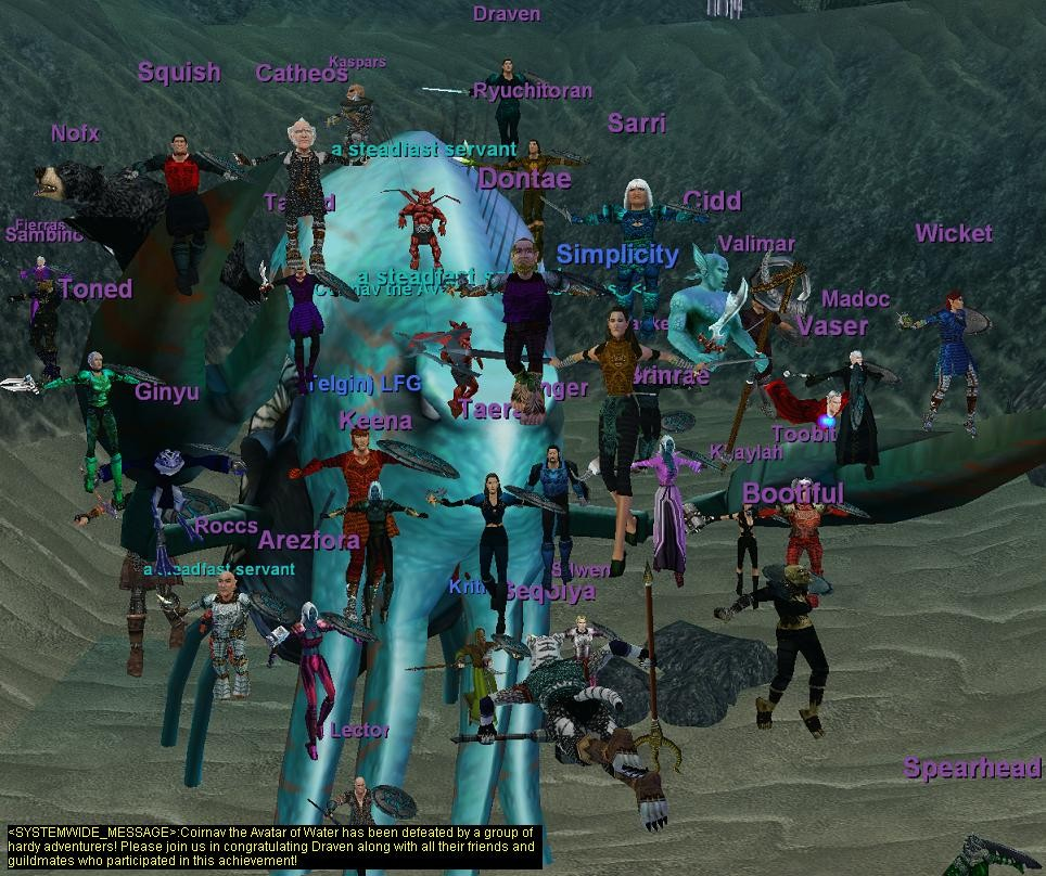EverQuest - My guild kills Coirnav!