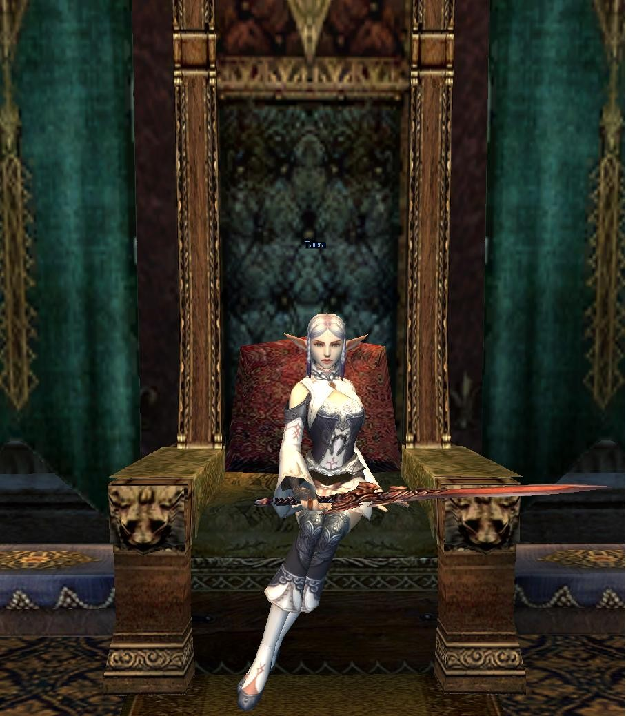 Lineage 2 - Queen me!