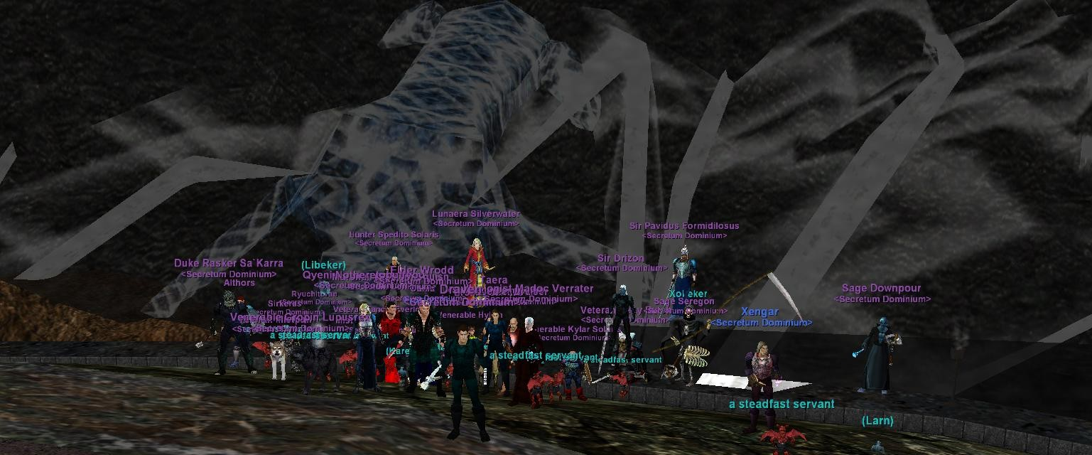 EverQuest - My guild kills Aerin`Dar!