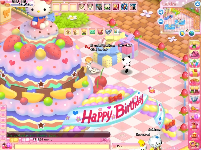 Hello Kitty Online - Happy Birthday Hello Kitty