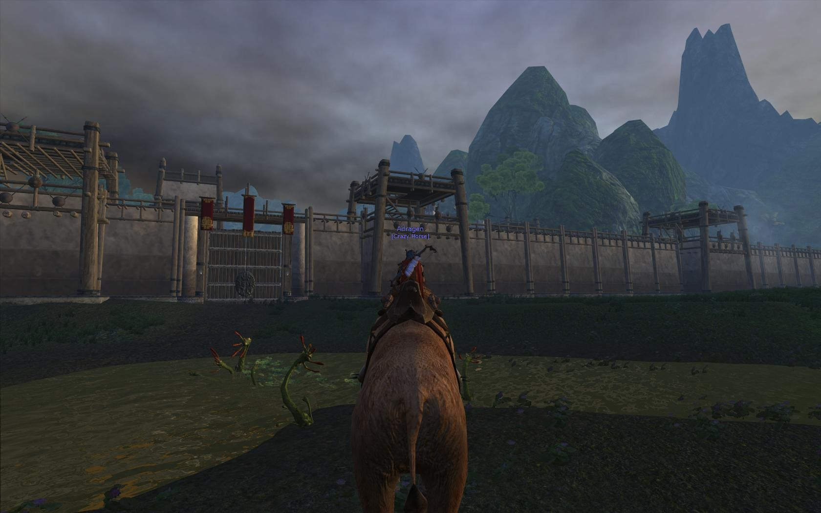 Age of Conan: Unchained - Mammoth outside of Guild City
