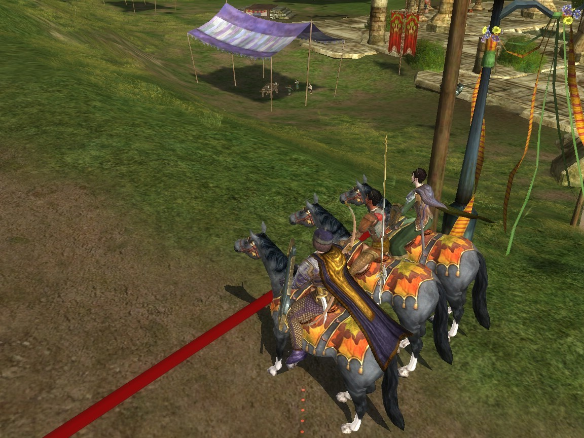 Lord of the Rings Online - Festival Horse Race