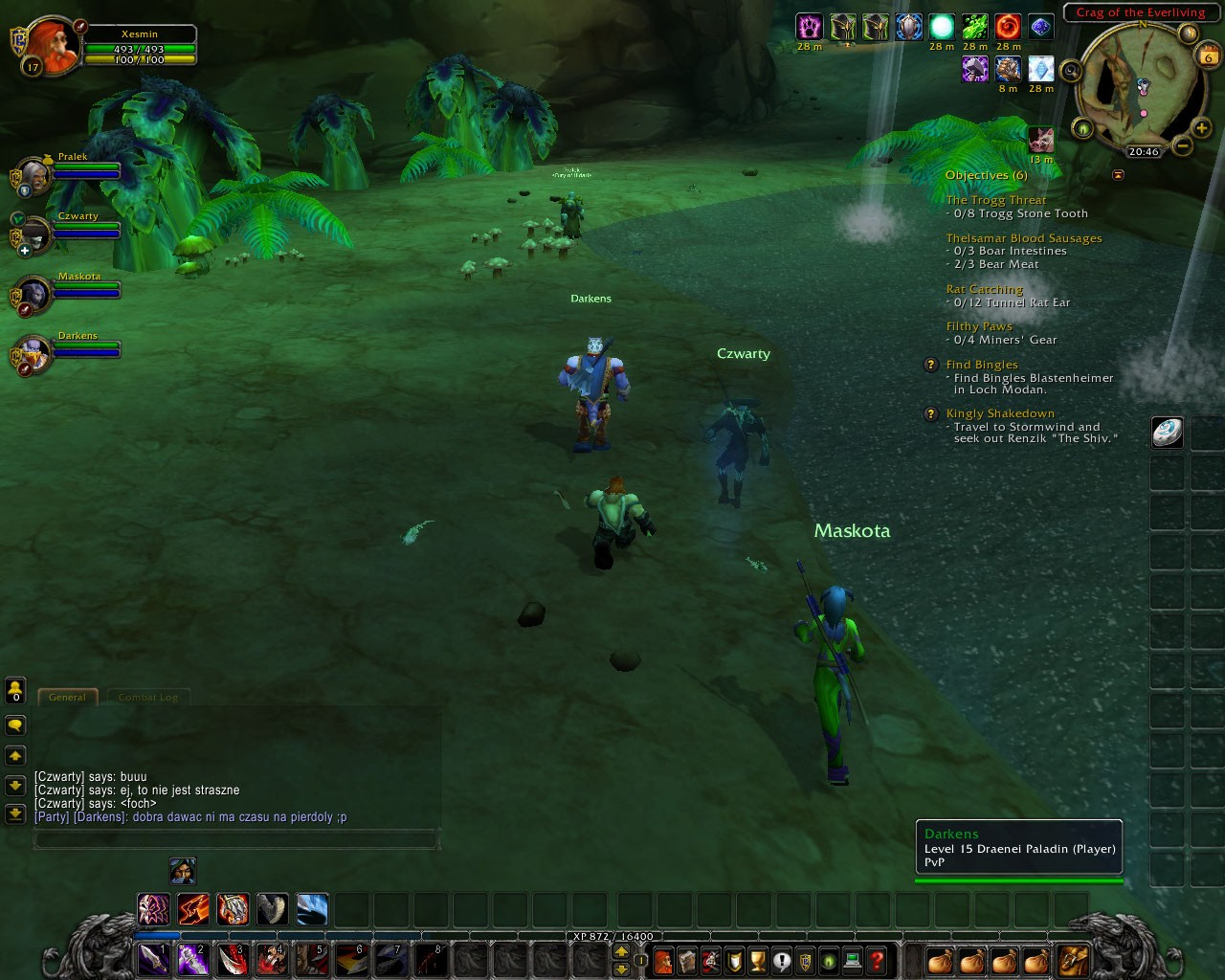 World of Warcraft - Wailing Caverns - Dungeon