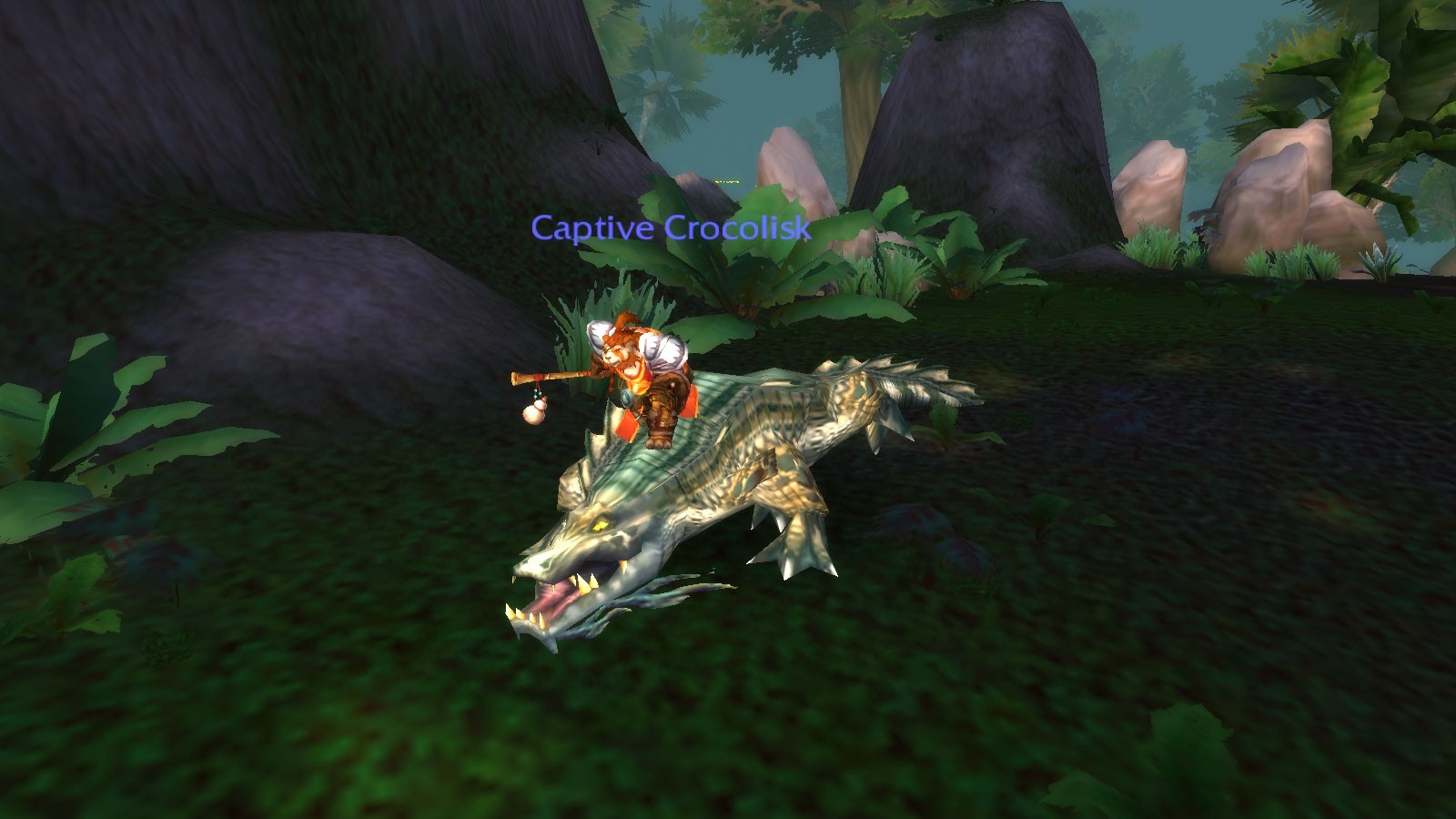 World of Warcraft - Crocodile Surfing! Hang Nine...I lost a finger!