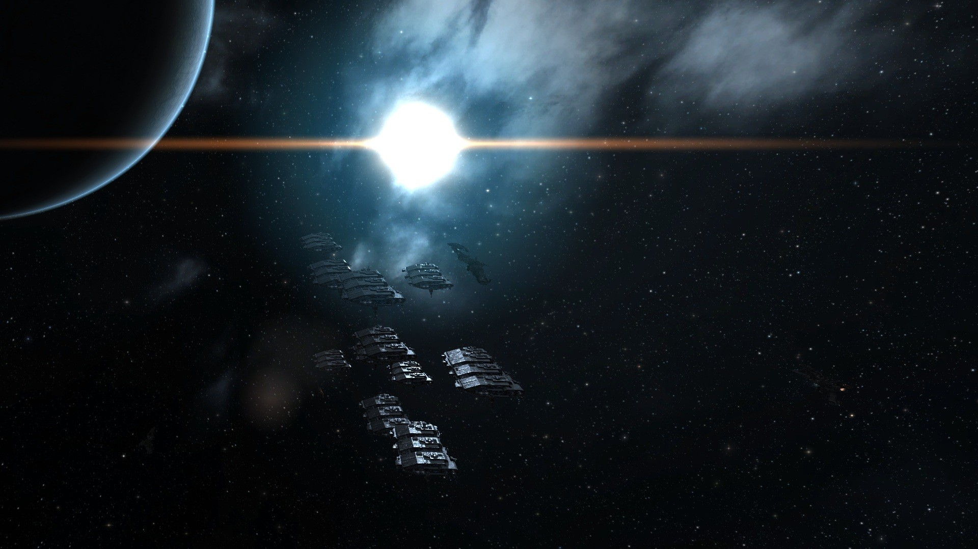 EVE Online - Moving day in the cosmos