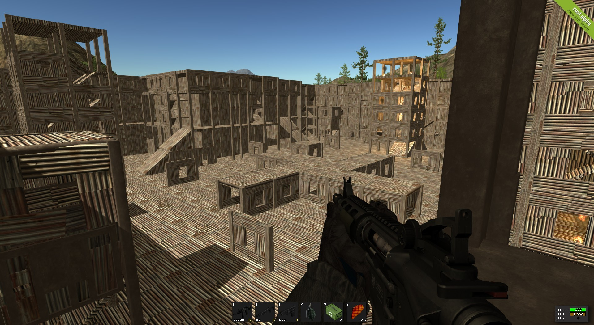 Rust: Player Made arena 4