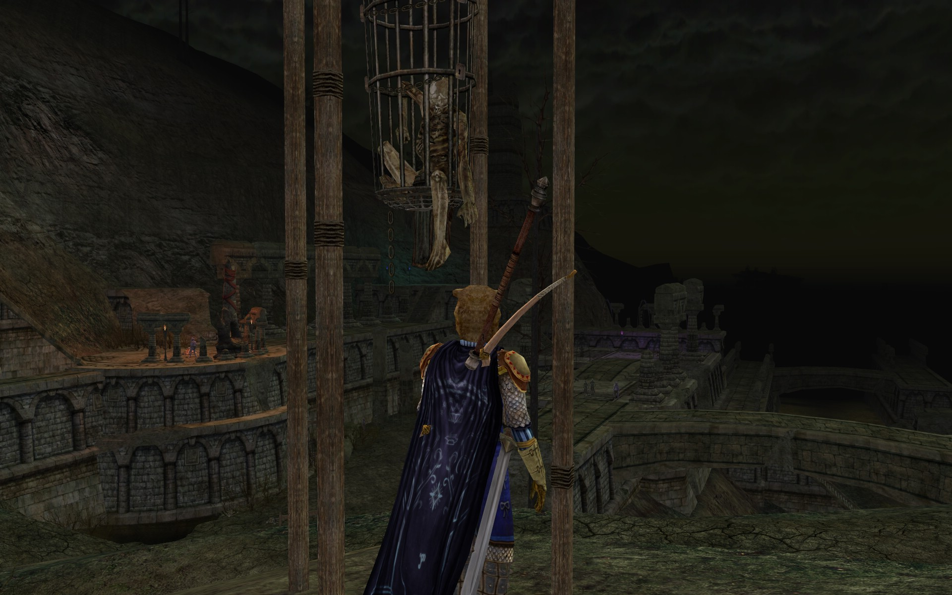 Lord of the Rings Online - this guy had a bad day