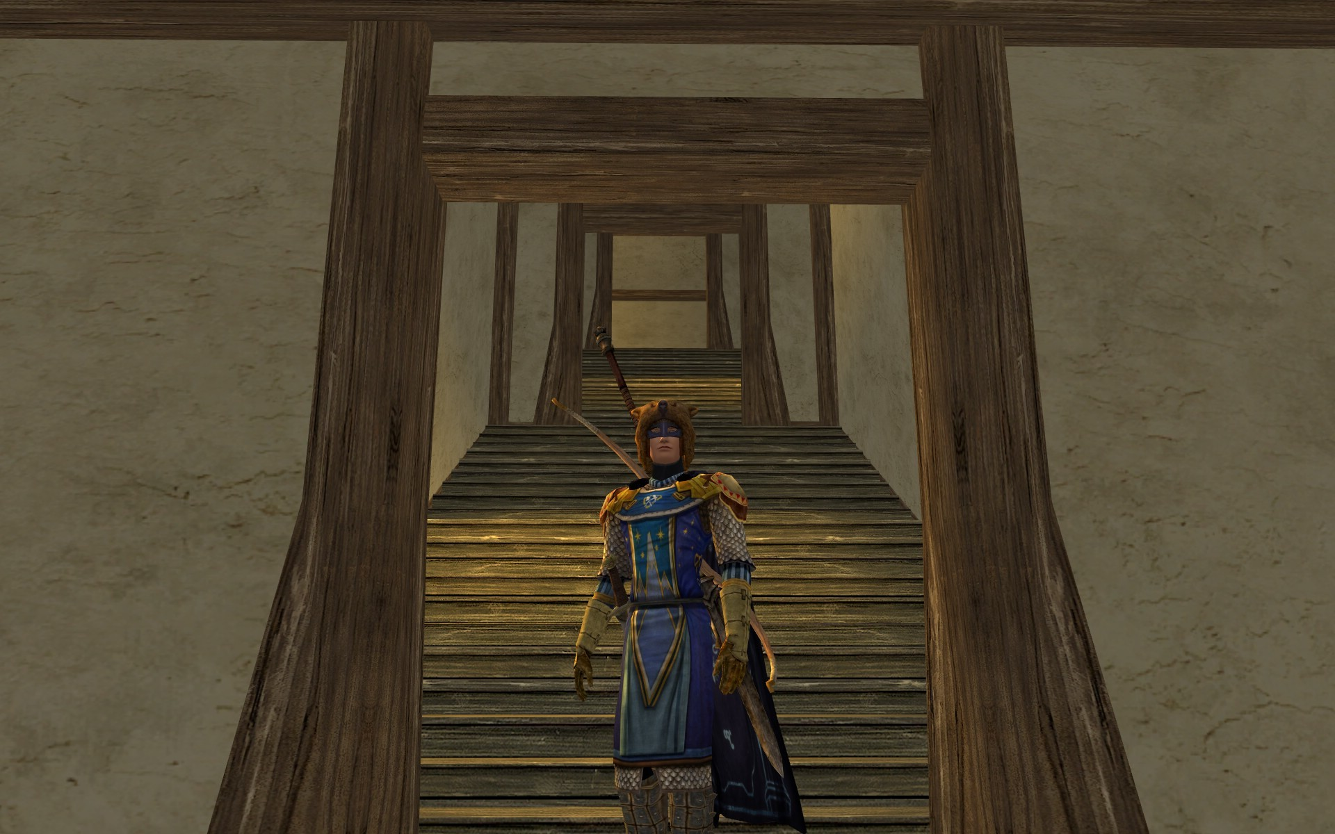 Lord of the Rings Online - inside is nice