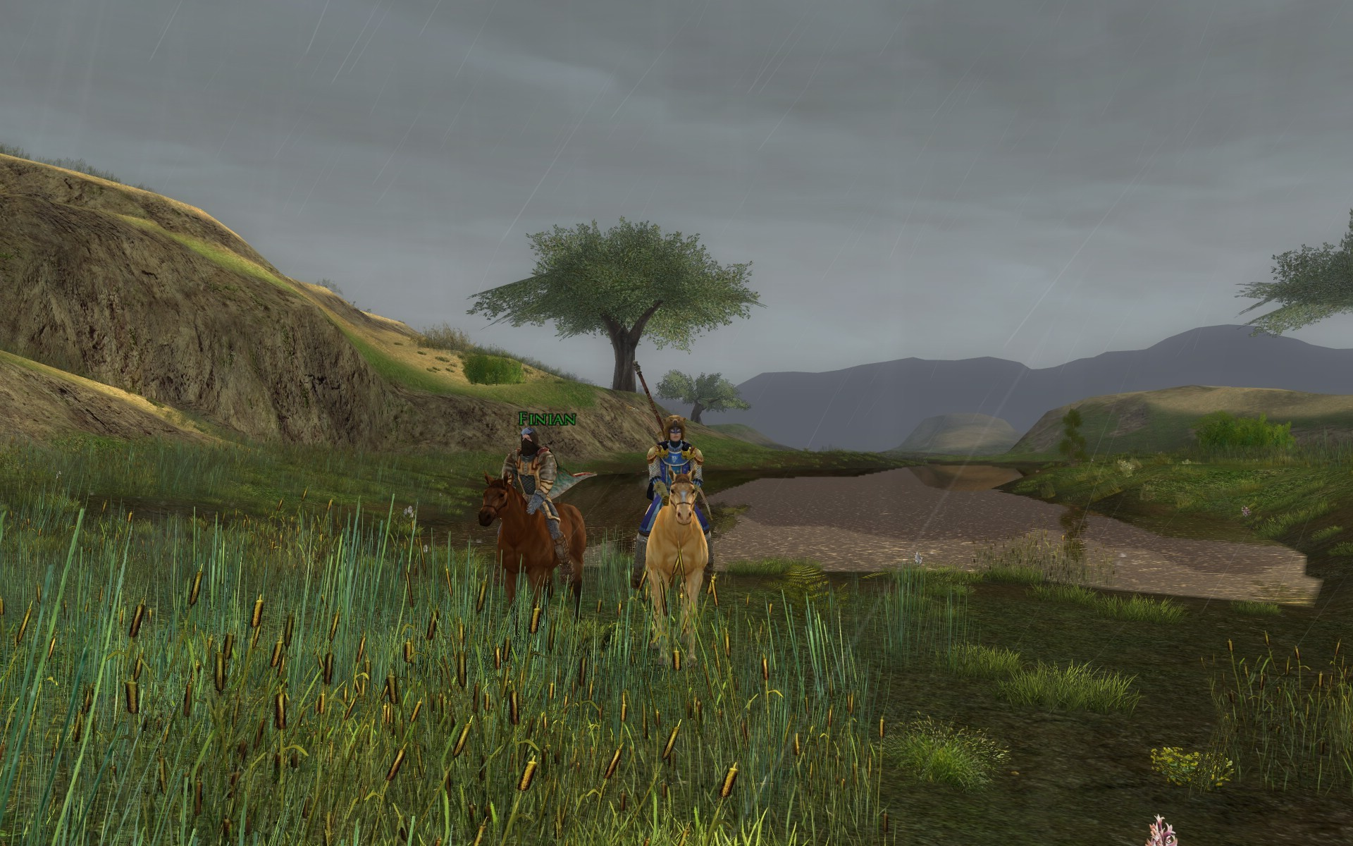 Lord of the Rings Online - weeds and reeds