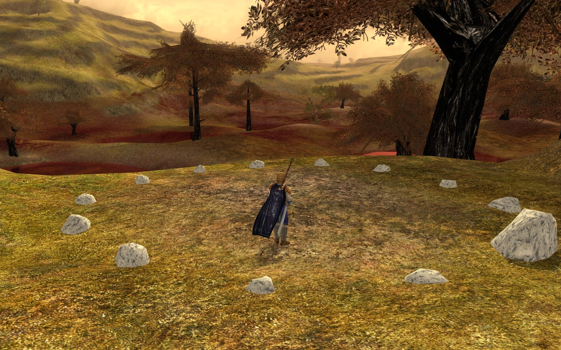 Lord of the Rings Online - get stoned