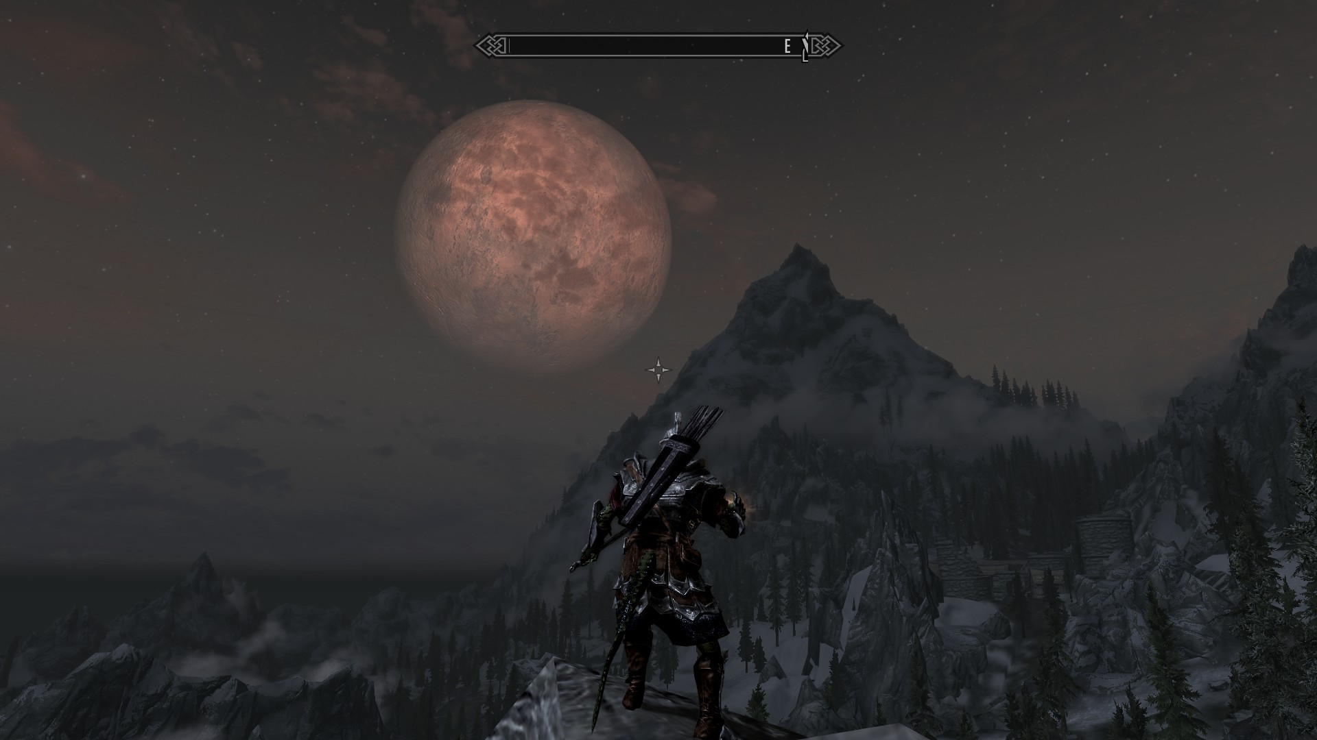 Skyrim - love this screenshot made by another player.