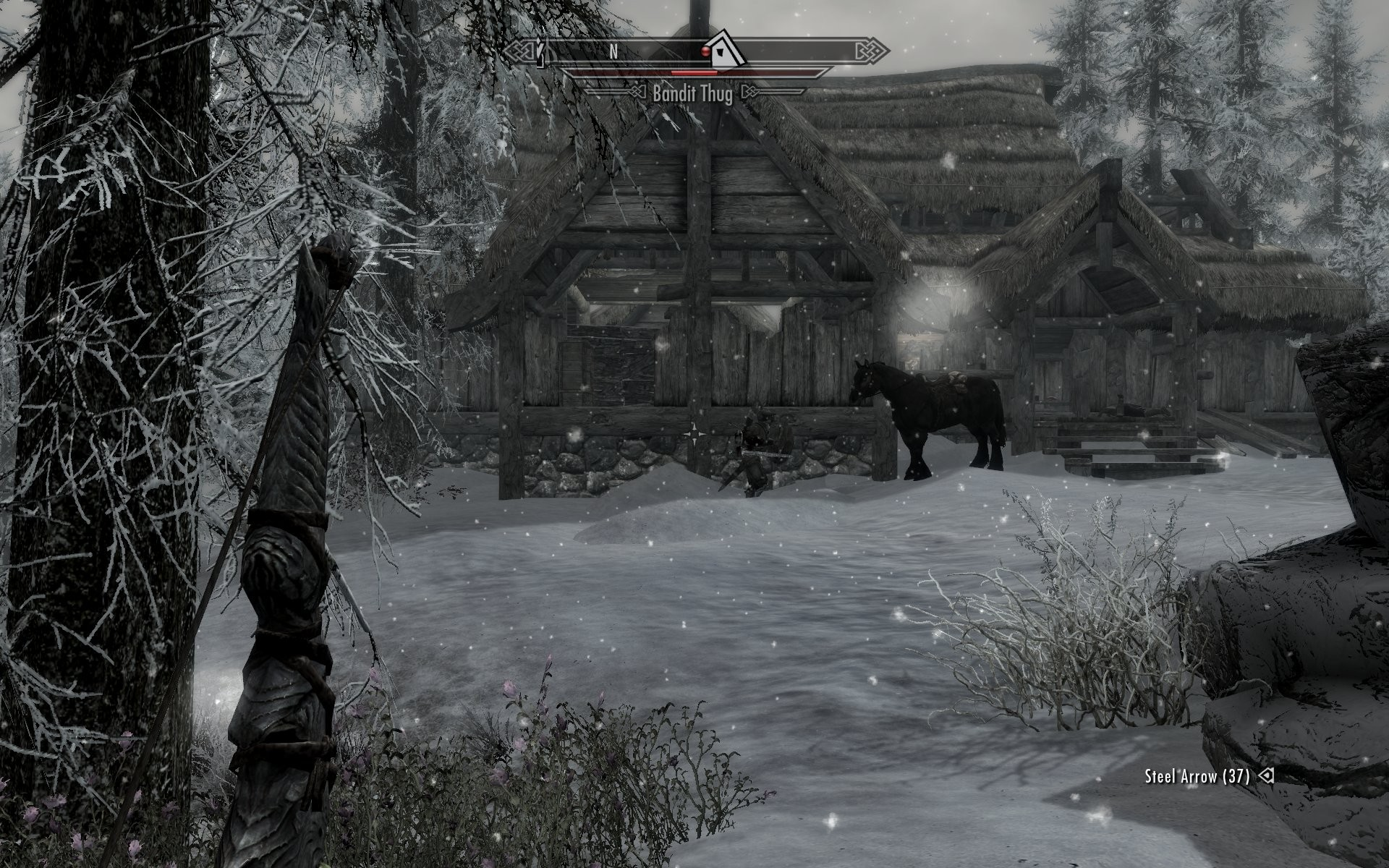 My horse Tibirius kicking arse all by himself.   ^_^