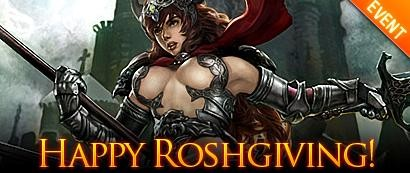 Rosh Online: Thanksgiving!