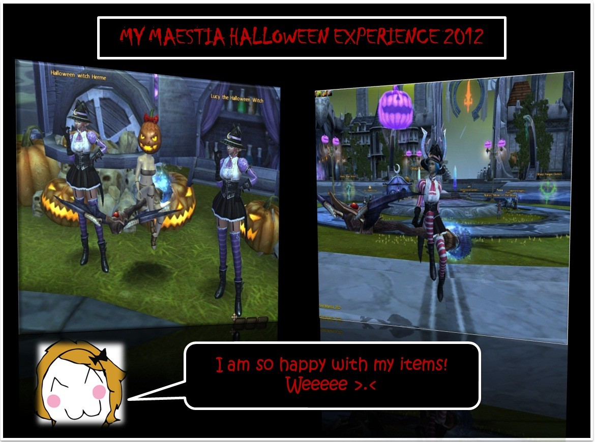 MAESTIA: MY HALLOWEEN EXPERIENCES 2012 part 6