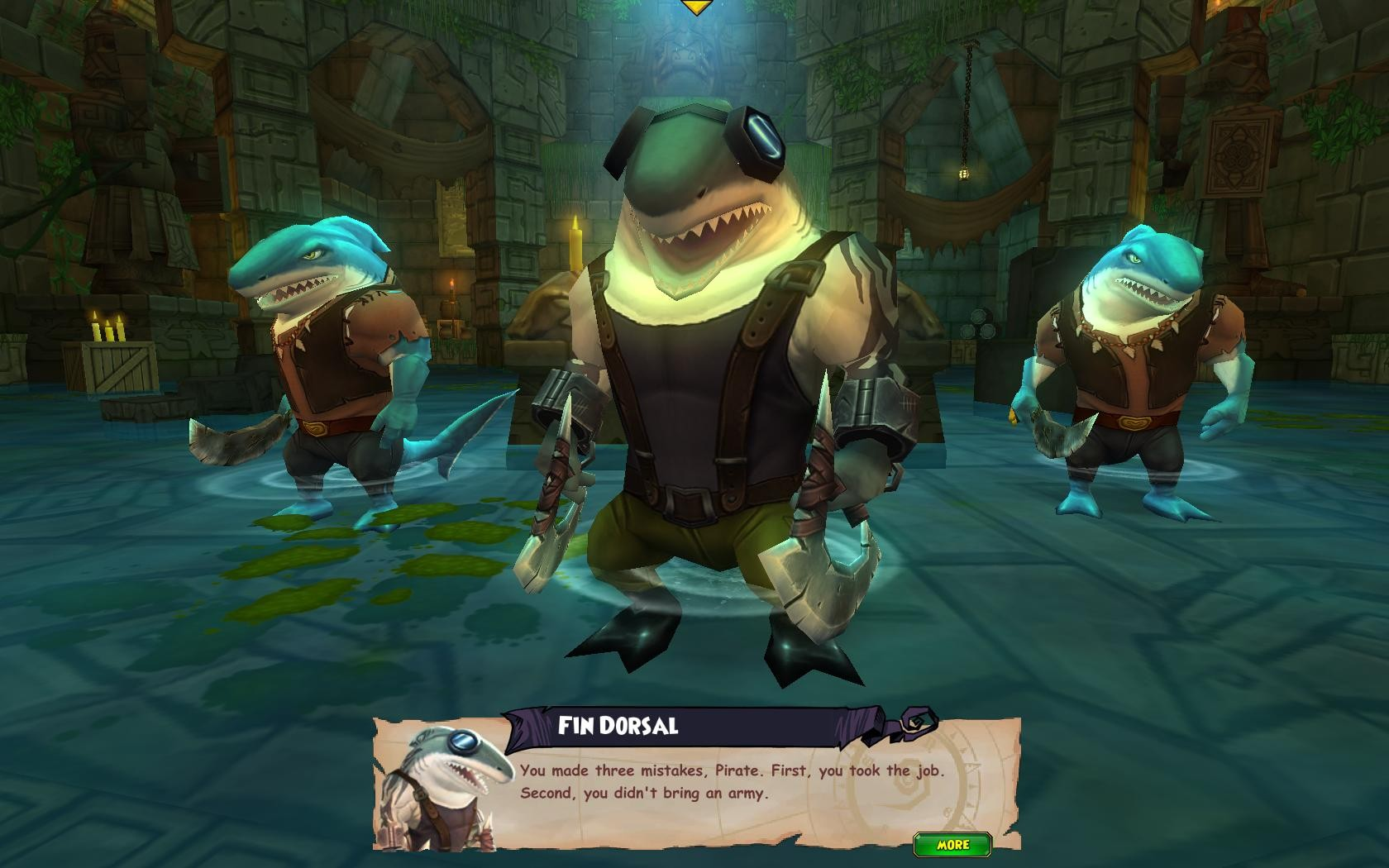 Pirate101 - Chronicles of Riddick? In my pirate game?