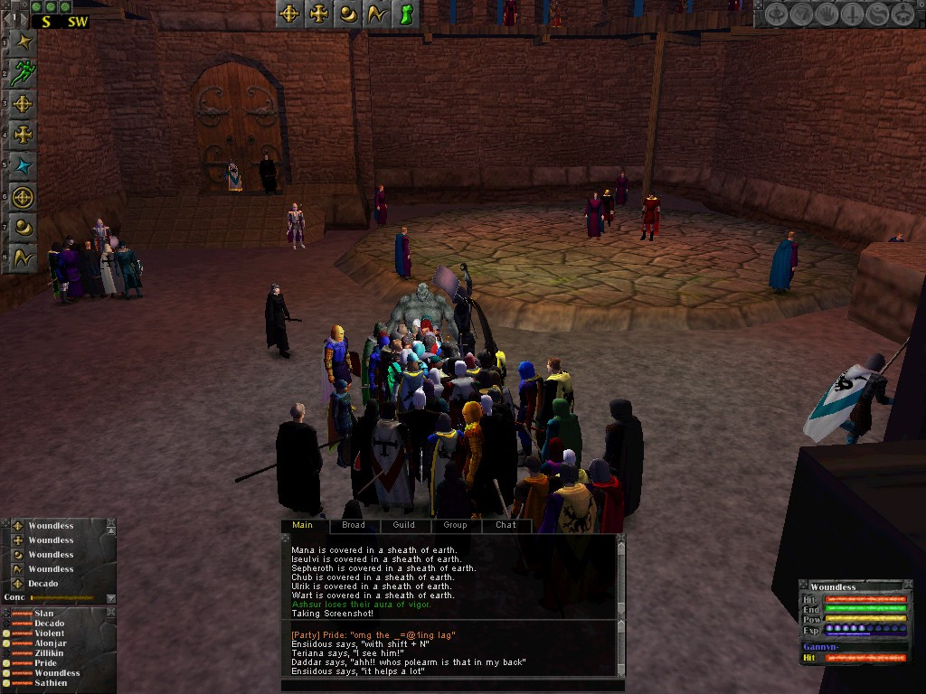 Dark Age of Camelot - Albion Raid Gathering (oldest v1.0)