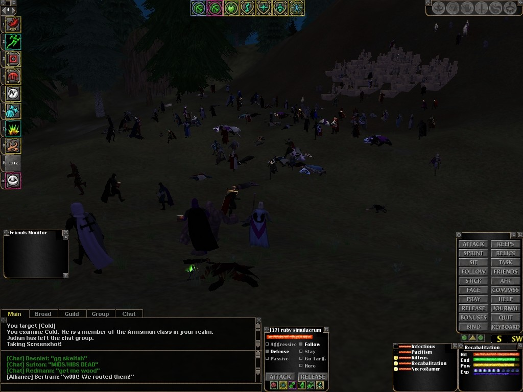 Dark Age of Camelot - Keep Siege 1 (old)