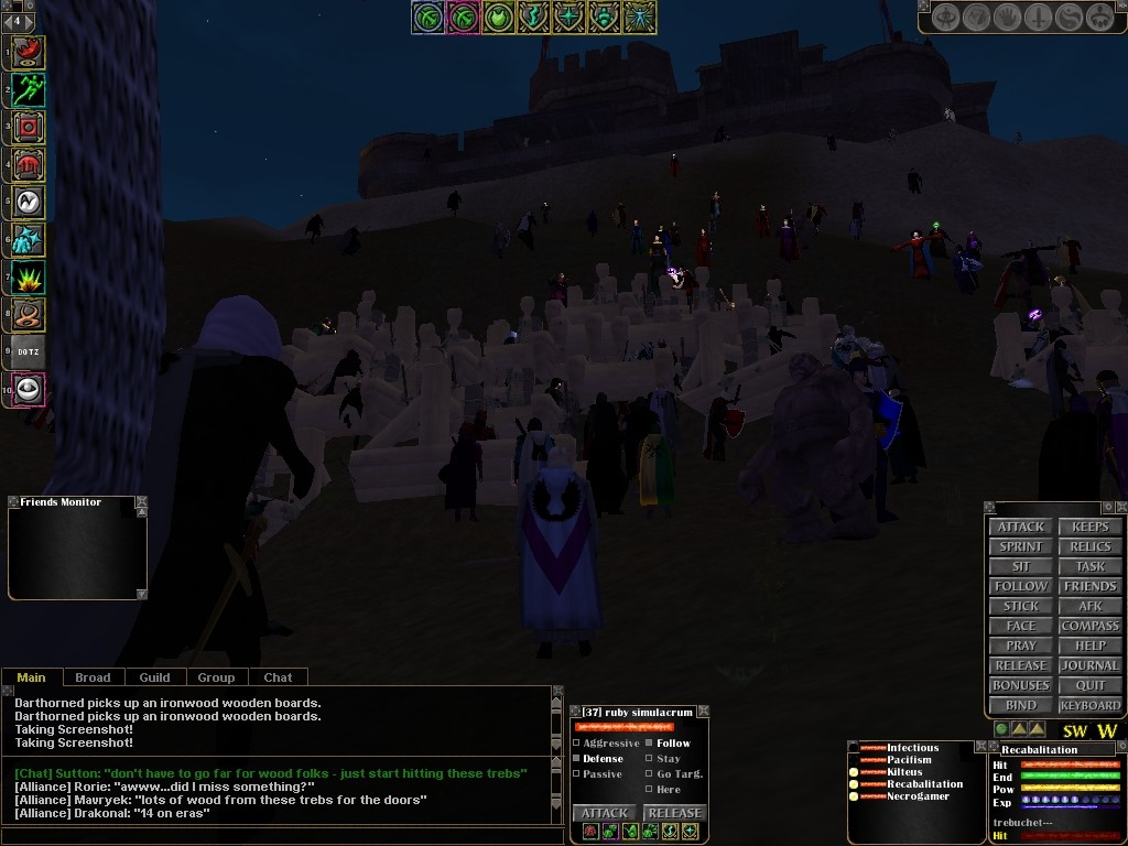 Dark Age of Camelot - Keep Siege 3 (old)