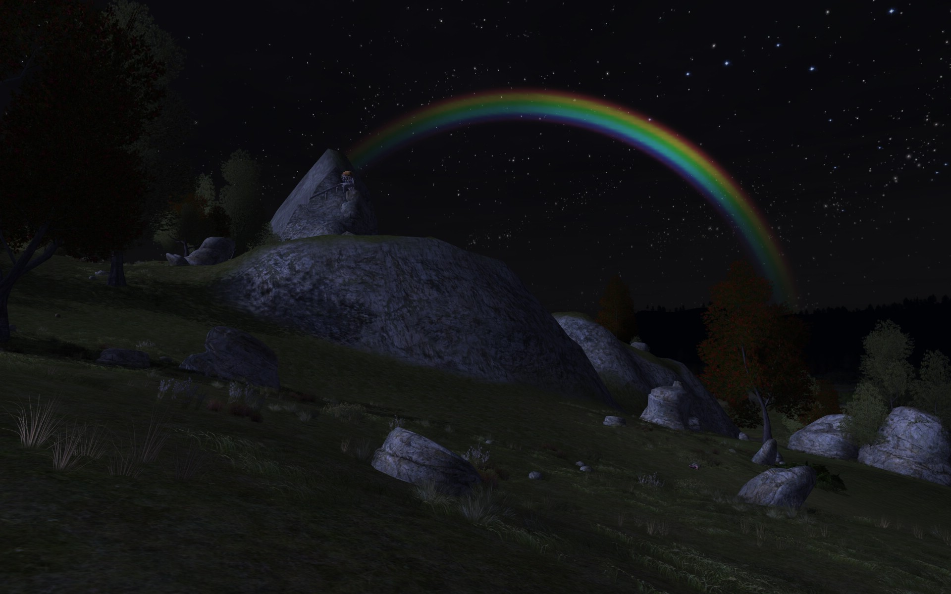 Lord of the Rings Online - I wonder if there's a pot o' gold at the end of this rainbow...