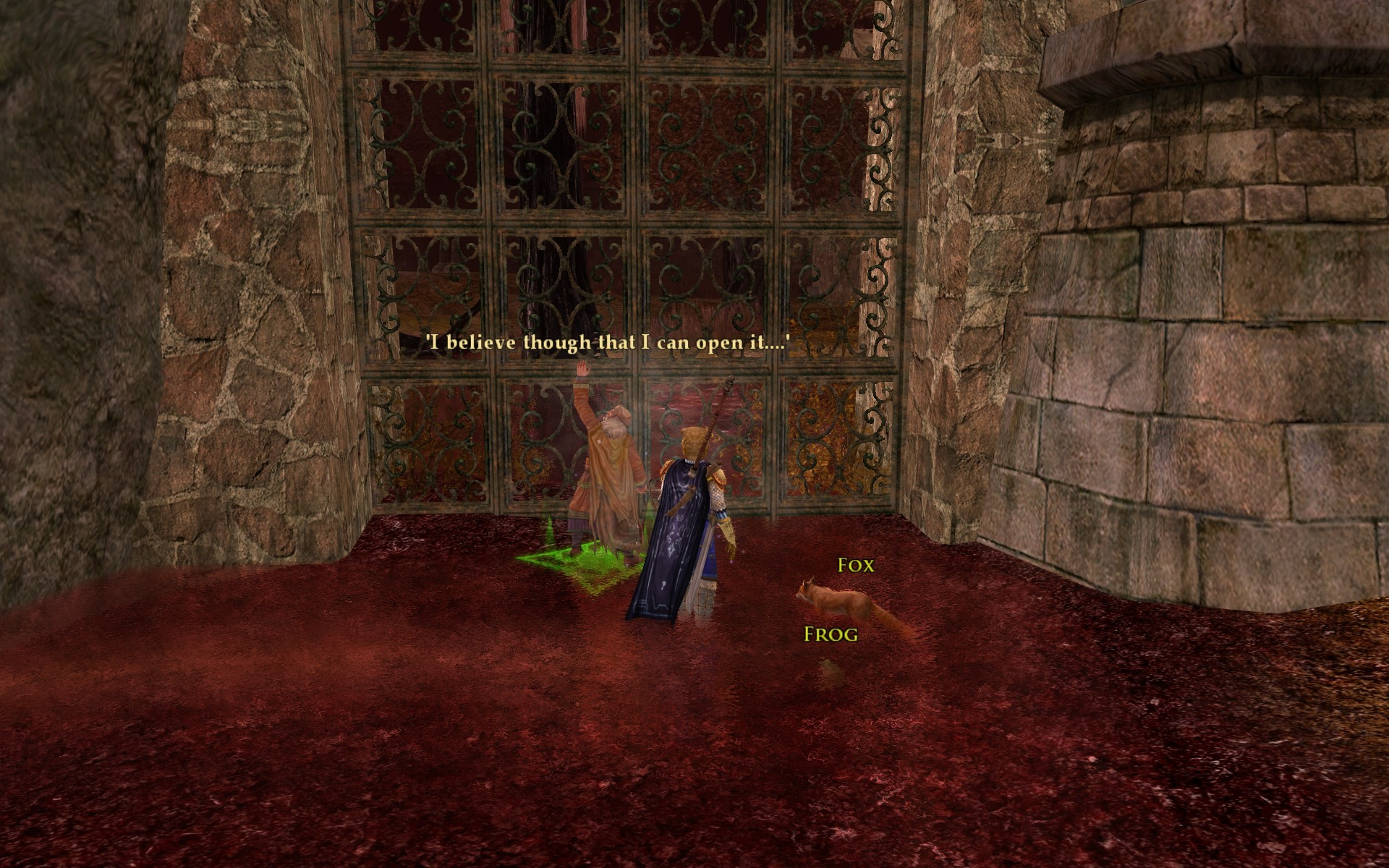 Lord of the Rings Online - Open seseme