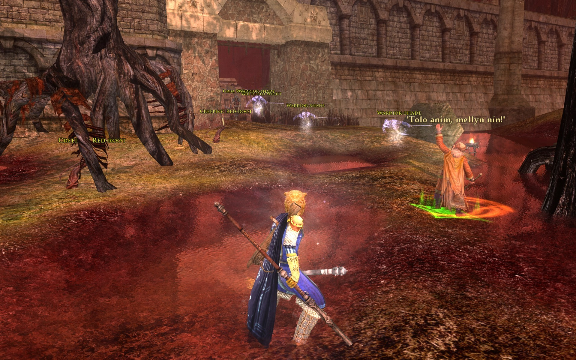 Lord of the Rings Online - kill them all
