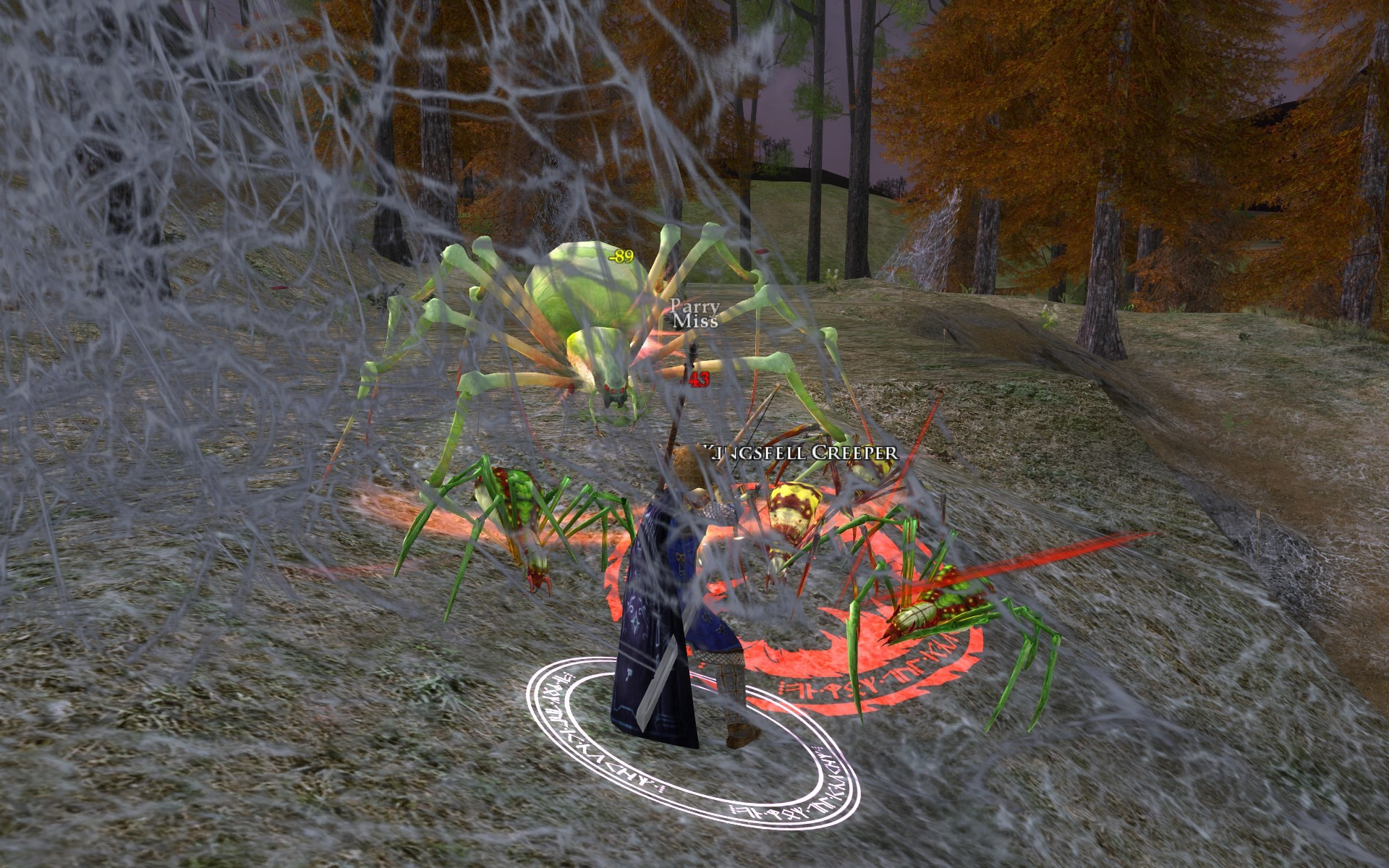 Lord of the Rings Online - The spider queen