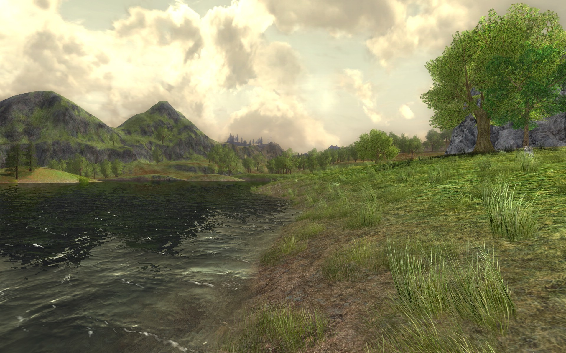 Lord of the Rings Online - nice lake