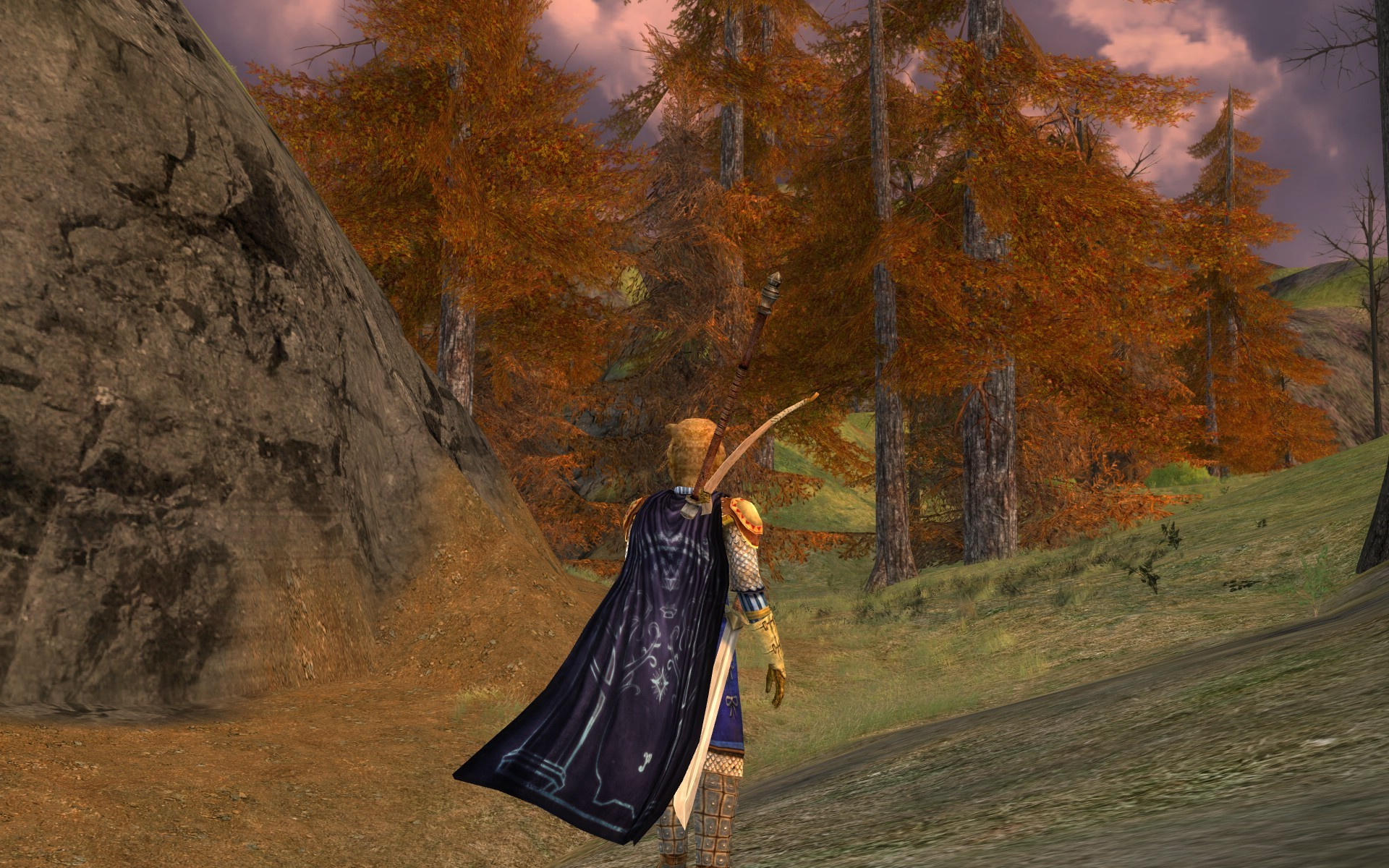 Lord of the Rings Online - break in the trees