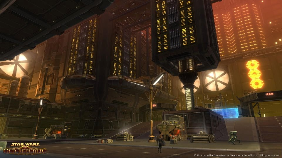 Star Wars: The Old Republic - Shrouded by the bright lights of upper Nar Shaddaa, the Undercity is home to countless gangs, cartels and fugitives.