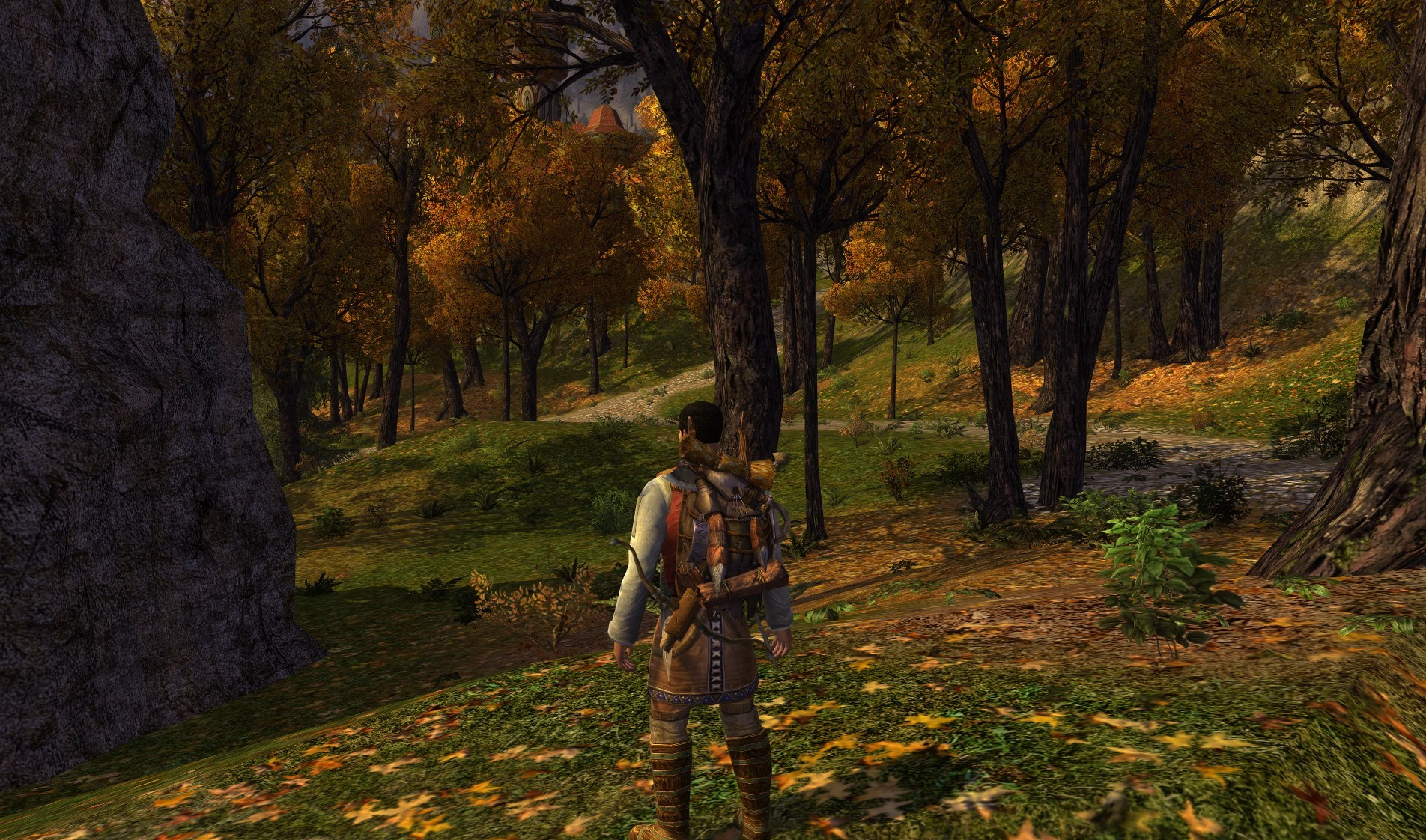 Lord of the Rings Online - Rivendell woods