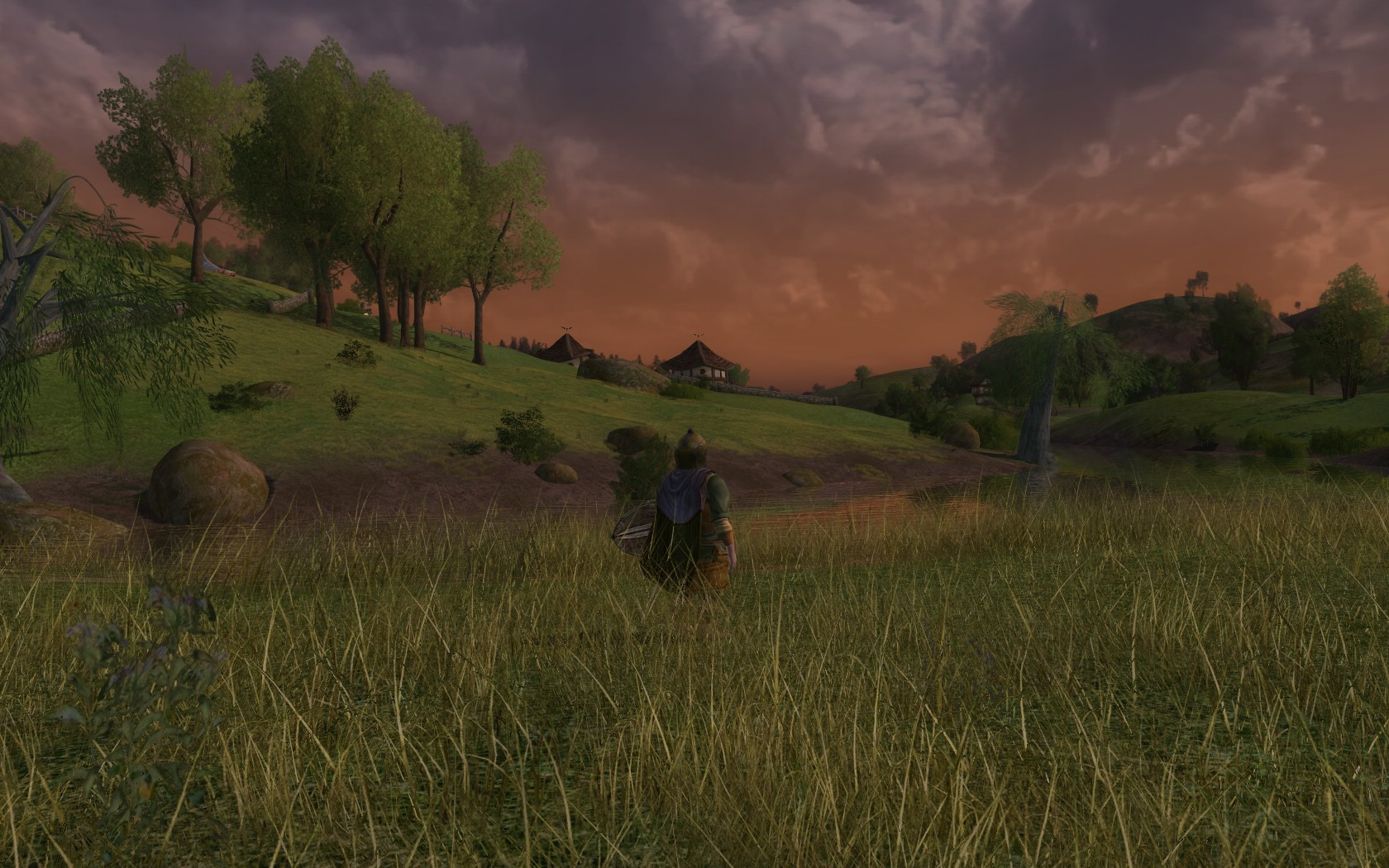 Lord of the Rings Online - yeah..im kinda fan of the grass in lotro