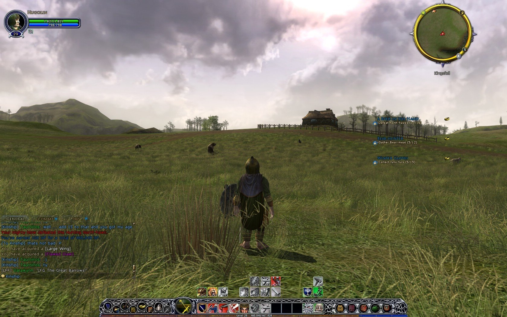 Lord of the Rings Online - lotro graphics sucks...NOT