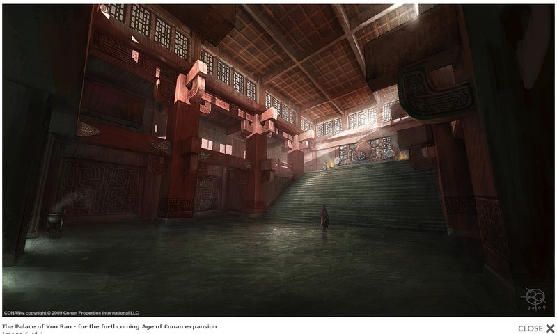 Age of Conan: Unchained - Palace of Yun Rau
