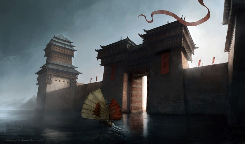 Age of Conan: Unchained - Paikang Harbour Seawalls