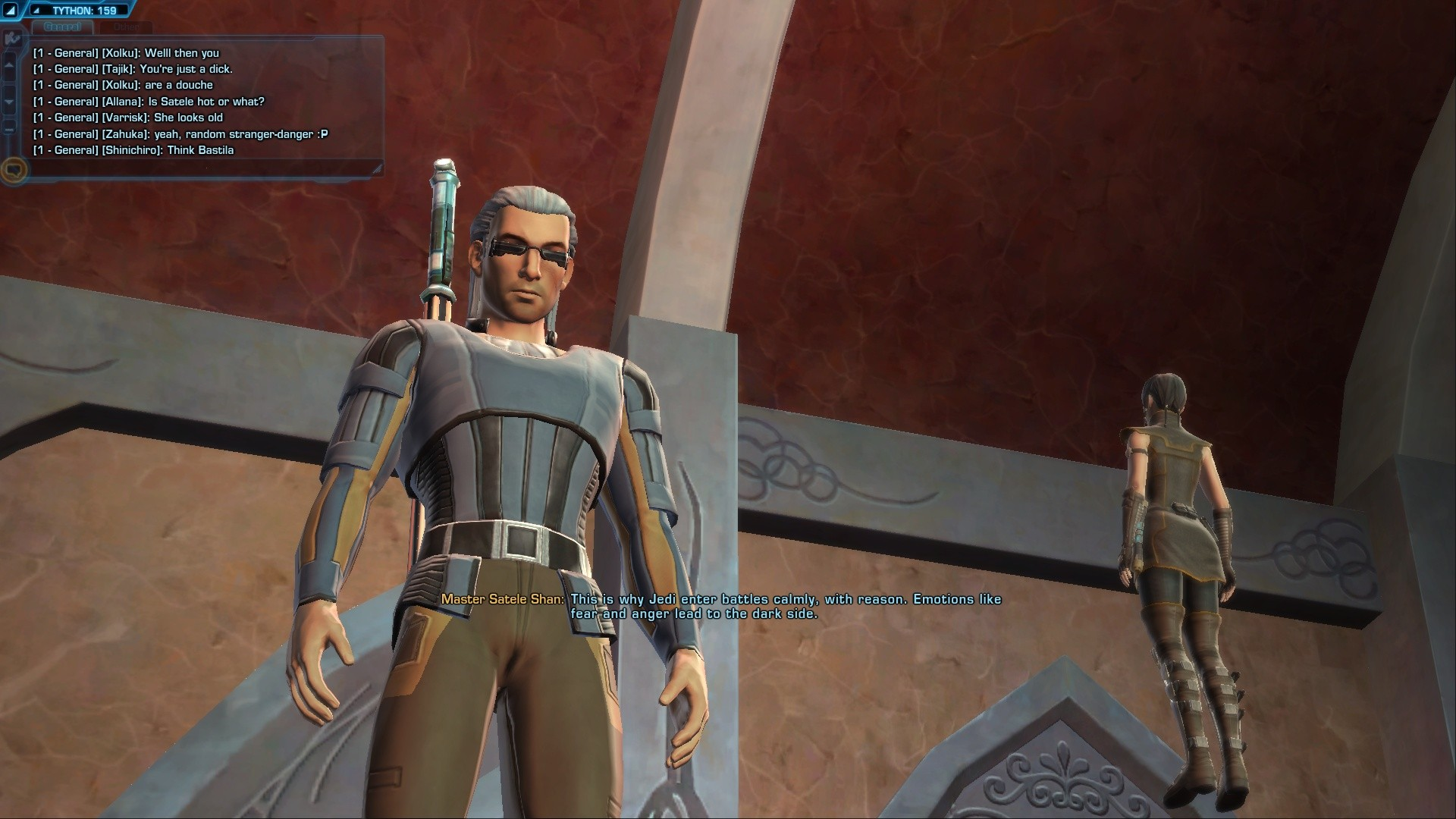 Star Wars: The Old Republic - My Miralukan Jedi Knight
